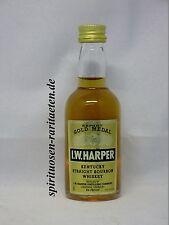 Boletín Harper Gold Medal exportación kentucky straight bourbon whiskey en miniatura