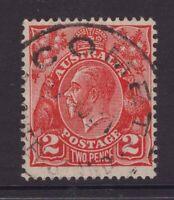 Queensland nice COMET postmark on KGV
