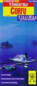 Corfu and Ionian Islands Insight Fleximap by APA Publications (Sheet map, folded