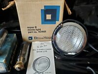 Vintage Bell & Howell Flood Lamp  Super 8 Camera # 43461 plus 3 Bulbs