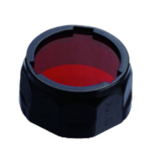 Fenix AOF-L RED Lens Filter Cap Diffuser For TK22, LD41, RC15, E40 and E50 Torch