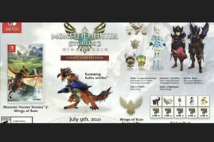 Monster Hunter Stories 2: Wings of Ruin Collector's Edition Preorder (GameStop)
