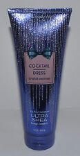 BATH BODY WORKS COCKTAIL DRESS CRYSTAL PEONIES ULTRA SHEA CREAM HAND LOTION 8 OZ