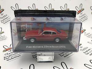 "DIE CAST "" FORD MAVERICK 2 DOOR SEDAN (1973) "" AMERICAN CARS SCALA 1/43"