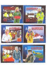 Alderney-Medical Aid set different perforation (197a-202a) 2002 Medicine