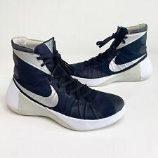 Mens Size 9 NIKE Hyperdunk 2015 Athletic Shoes 749885-001 Black/White/Silver