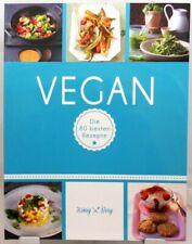 VEGAN + Tolles Kochbuch + Die 80 besten Rezepte + Pflanzenpower pur + Trendig