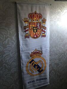 Real Madrid  Wall Banner Flag