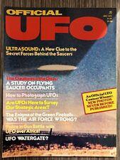 Official UFO Magazine May 1976 - UFOs Africa Allen Hynek Ufology Schwier Photos