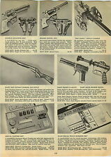 1947 PAPER AD Toy Daisy Buck Rogers Atomic Pistol Squirt O Matic Big Bang Cannon