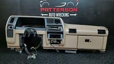 1991 FORD RANGER DASH BOARD PANEL CORE ASSEMBLY PARCHMENT INTERIOR TRIM CODE YP