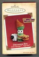 Hallmark 2004 Veggie Tales Junior Asparagus Drummer Boy Christmas Ornament