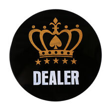 Acrylic Texas Hold'em Dealer Chip Poker Guard Card Entertainment Accessory