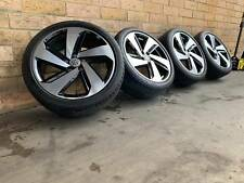VOLKSWAGEN GOLF GTI GENUINE 18 INCH WHEELS AND TYRES NEAR NEW SET OF 4