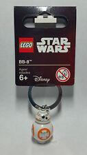Brand New Lego - BB-8 Keyring (2016) - Star Wars - 853604 -  Free P&P - Rare