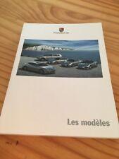Porsche 2009 tous les modelos catálogo folleto prospekt folleto en francés