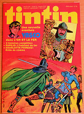BD Comics Magazine Hebdo Journal Tintin No 33 35e Vasco Dans l'or et le Fer
