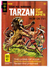 Edgar Rice Burroughs TARZAN #164 in FN/VF condition a 1967 Gold Key comic