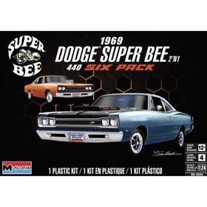 REVELL 14505 1/25 1969 Dodge Super Bee Plastic Model Kit Brand New