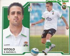 VITOLO ESPANA REAL RACING SANTANDER STICKER LIGA ESTE 2008 PANINI
