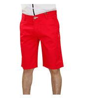 Mens Jack South Designer stretch shorts Twill Denim Bermuda Pants Turn Up Shorts