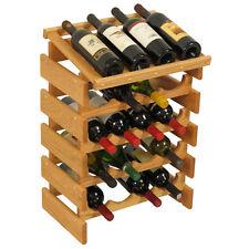 Wooden Mallet 20 Bottle Dakota Wine Rack w/Display Top WRD44LO Wine Rack NEW