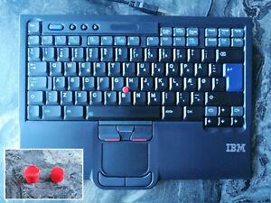 IBM Lenovo ThinkPad SK-8845 SK-8845RC UltraNav USB Keyboard Extra TrackPoint Cap