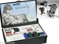 MATT MINI LATHE W/GAUGE WAX RING BEZEL SETTING DESIGN
