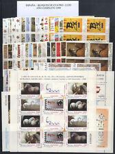ESPAÑA - BLOQUE DE CUATRO - AÑO 1999 COMPLETO ** MNH - LUJO