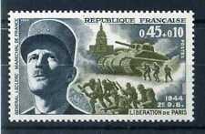FRANCE 1969 timbre 1607, Maréchal Leclerc, neuf**