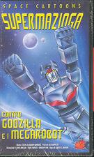 SUPERMAZINGA CONTRO GODZILLA E I MEGAROBOT - VHS (NUOVA SIGILLATA) RARA !
