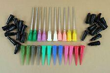 44 Piece Blunt Dispensing Needle & Cap Assortment Adhesives E-6000 Vaping Glue