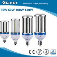 E40 E27 LED Light Corn Bulb 30/60/100W Lamp for Garage Warm Cool White 110V 220V