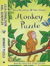 JULIA DONALDSON AXEL SCHEFFLER MONKEY PUZZLE CASSETTE READ BY IMELDA STAUNTON