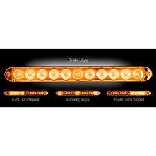 RECON 26418AM Mini 15-inch Amber-Amber Tailgate Light Bar LED