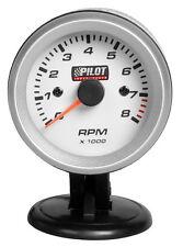 """10010 Contagiri 0 8000 RPM Ø 2"""" (52 mm) Blue Light 2/4/6 cilindri 1pz"""