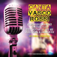 CD Canta Vasco Rossi, Vita Spericolata, Albachiara, Una Canzone Per Te, Generale