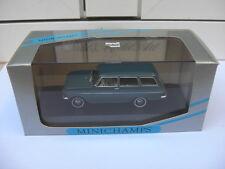 Opel Kadett A Caravan 1962 - 65 blue Minichamps 430043011 MIB 1:43 BEAUTIFUL
