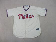 Bryce Harper Philadelphia Phillies Baseball Jersey Adult Large White Mens *