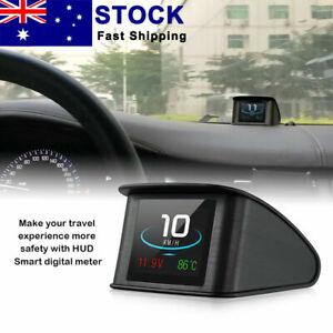 P10 Car HUD Head Up Display Smart Digital Speedometer LCD Dis-play OBD 2 Scanner