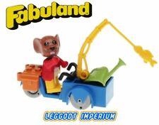 LEGO Fabuland Maximillian Mouse - Vintage Complete Set 3781 Minifig FREE POST