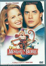 Monkey Bone (2001) DVD NUOVO SIGILLATO Brendan Fraser. Bridget Fonda J. Turturro