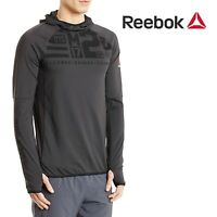 Reebok Crossfit One Series Speed Wick Hooded Sweatshirt Hoodie Fitness Small