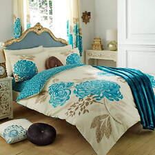 Kew Floral Duvet Cover Quilt Cover Bedding Set Single Double King Super
