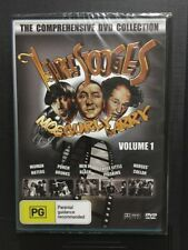 THE THREE STOOGES DVD VOLUME 1 - MOE, CURLY & LARRY -  NEW & SEALED REGION 4