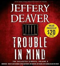 Jeffery Deaver TROUBLE IN MIND Unabridged 14 CDs 17 Hours *NEW* *FAST Ship!
