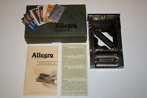 Allegro Mod L honing stropping machine safety razor blades