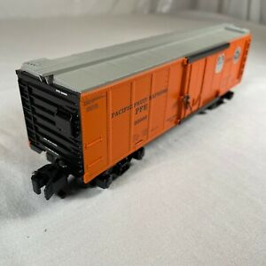 6-48205 American Flyer Trains NASG 1997 Pacific Fruit Express Reefer Orange 3/16