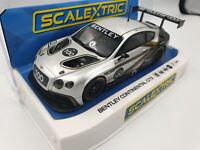 Scalextric 1:32 Bentley Continental GT3 Centenury Edition HD C4057A