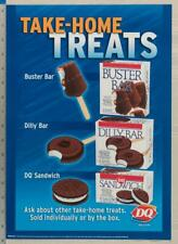 Dairy Queen Poster Backlit Plastic Take Home Treats Buster Bar 11x16 dq2